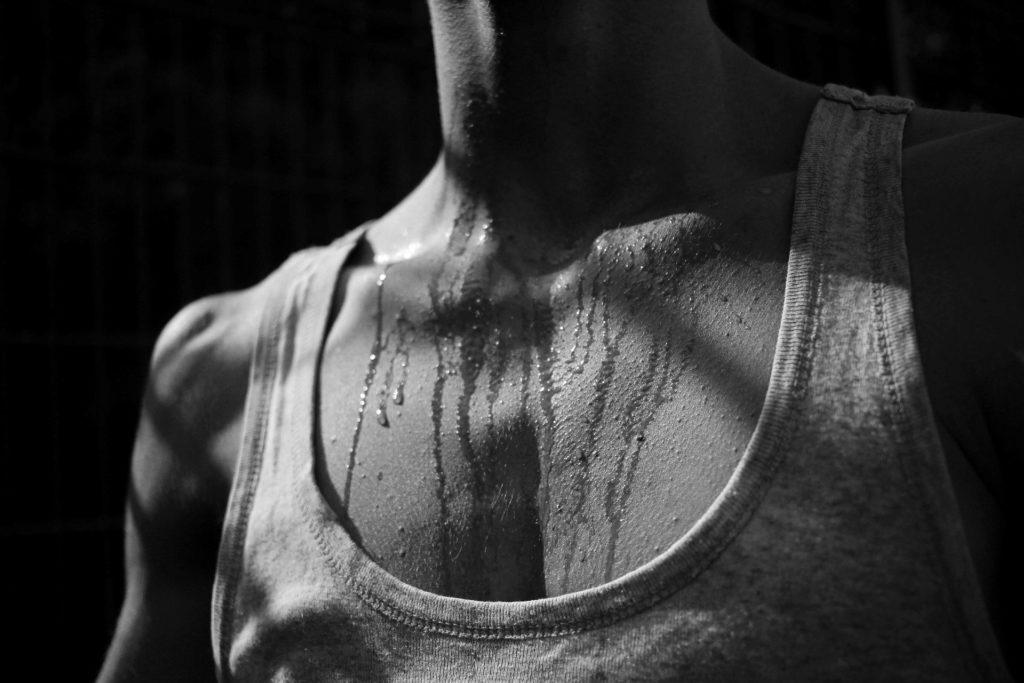 hyperhidrose, transpiration excessive